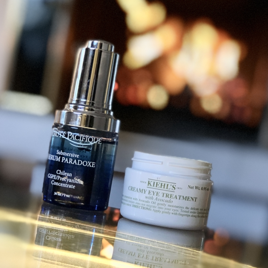 Serum Paradoce och Kiehl´s Creamy Eye Treatment