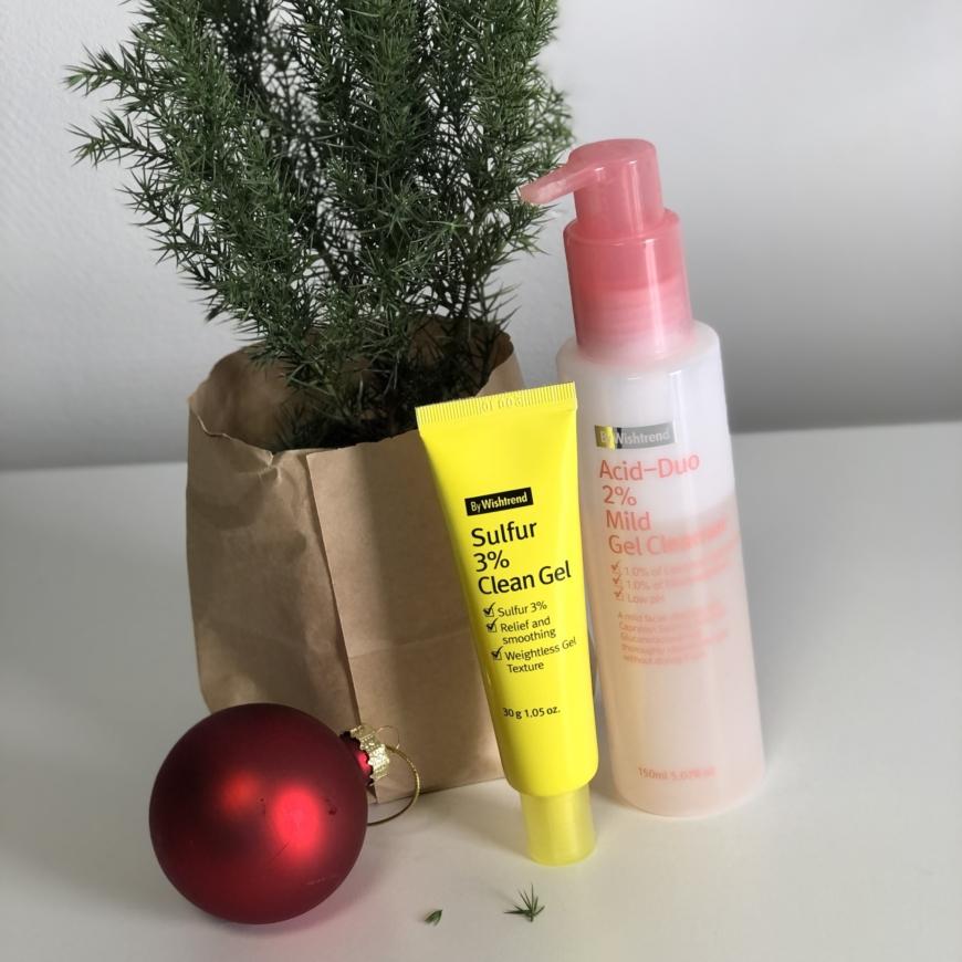 By Wishtrend Sulfur 3% Clean Gel och Acid duo 2% mild gel cleanser