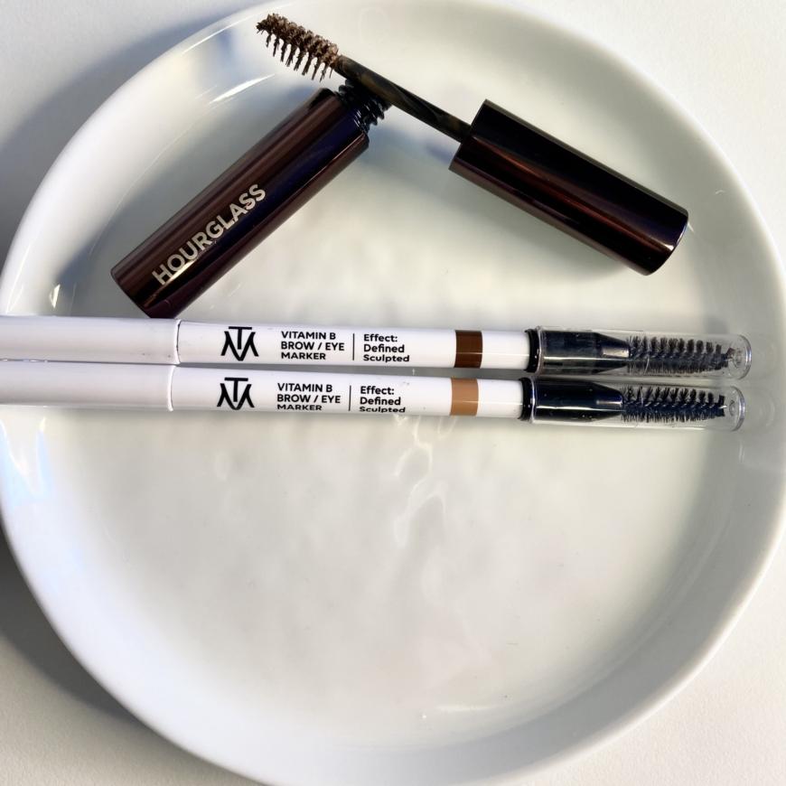 Makethemake Vitamin B Brow/Eye Marker och Hourglass Arch Brow Volumizing fiber gel