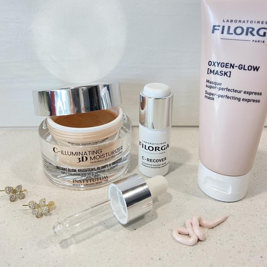 Instytutum creme, Filorga serum och Filorga mask
