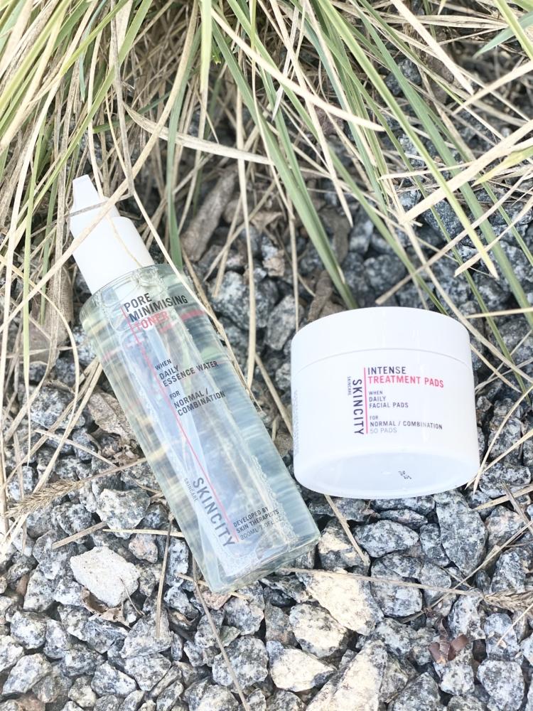 Pore Minimizing Toner och Intense Treatment Pads